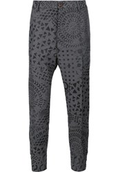 Vivienne Westwood Man Buckle Cuff Trousers Grey