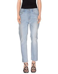 Marc By Marc Jacobs Denim Denim Trousers Women Blue