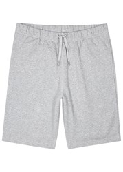Sunspel Grey Loopback Cotton Shorts