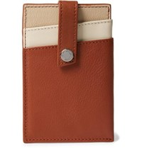 Want Les Essentiels Kennedy Leather Cardholder With Money Clip Brown