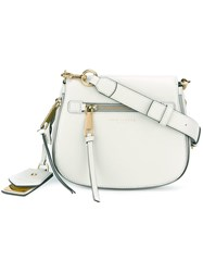 Marc Jacobs 'Gotham' Saddle Crossbody Bag Grey