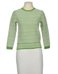 Just In Case Long Sleeve Sweaters Light Green
