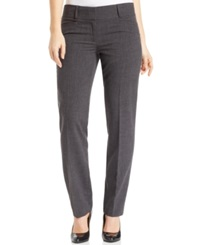 Laundry By Shelli Segal Skinny Ankle Dress Pants Charcoal