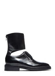 Yang Li Ankle Cuffed Derby Shoes Black
