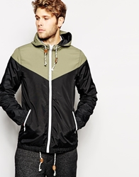 Another Influence Hooded Jacket Black