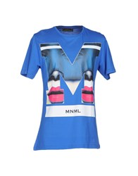 Mnml Couture T Shirts Azure