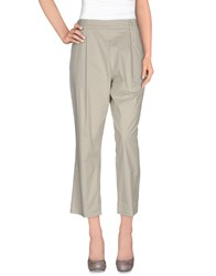 Erika Cavallini Semi Couture Erika Cavallini Semicouture Trousers Casual Trousers Women Light Grey