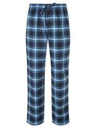 Boss Logo Boss Brushed Check Cotton Lounge Pants