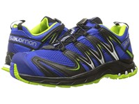 Salomon Xa Pro 3D Cobalt Process Blue Granny Green Men's Shoes