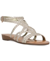 Carlos By Carlos Santana Turner Braided Demi Wedge Sandals Women's Shoes Kork