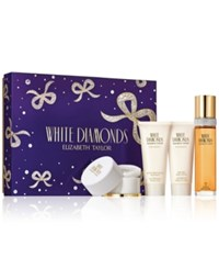 Elizabeth Taylor 4 Pc. White Diamonds Gift Set No Color