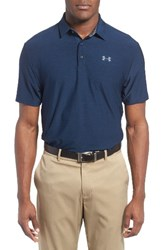 Under Armour Men's 'Playoff' Short Sleeve Polo Academy Graphite