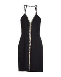 Azzaro Short Dresses Black