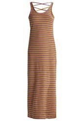 Noisy May Nmelsa Jersey Dress Golden Rod Multicolor Yellow