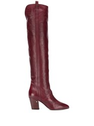 Laurence Dacade Sullyvan Boots Red