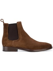 Lanvin Casual Chelsea Boots Brown