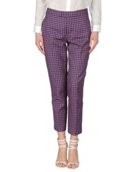 Marc By Marc Jacobs Trousers Casual Trousers Women Fuchsia
