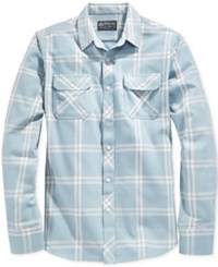 American Rag Aaron Plaid Long Sleeve Shirt Only At Macy's