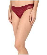 Dkny Nightfall Thong Cranberry Women's Underwear Red