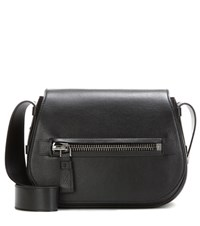 Tom Ford Jennifer Soft Leather Shoulder Bag Black