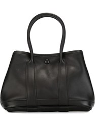 Herma S Vintage Mini 'Garden Party' Tote Black