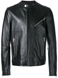 Diesel Black Gold Zipped Jacket Black