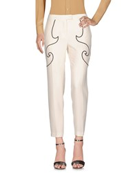Moschino Cheap And Chic Casual Pants Ivory