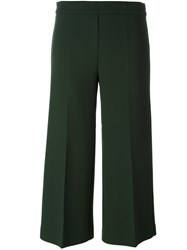 P.A.R.O.S.H. Tailored Cropped Trousers Green