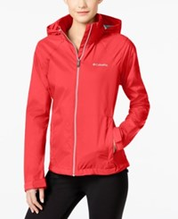 Columbia Switchback Ii Omni Shield Water Repellent Jacket Red Camellia