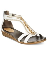 Easy Spirit Amalina Wedge Sandals Women's Shoes White