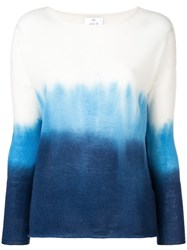 Allude Gradient Effect Jumper Blue
