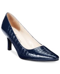 Karen Scott Clancy Pumps Only At Macy's Women's Shoes Navy