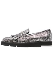 Love Moschino Slipons Argento Silver