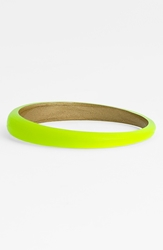 Alexis Bittar 'Lucite ' Skinny Tapered Bangle Nordstrom Exclusive Neon Yellow