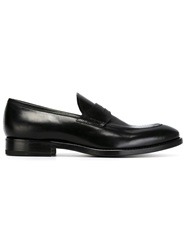 Henderson Fusion Classic Penny Loafers Black