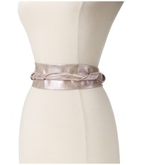 Ada Collection Obi Classic Wrap Pink Shimmer Women's Belts