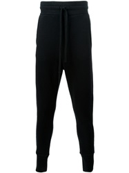 Thom Krom Gathered Ankle Track Pants Black