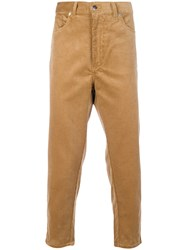 Societe Anonyme Deep Chino Trousers Cotton Nude Neutrals