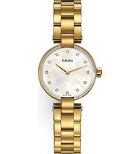 Rado R22857923 Coupole Gold Watch
