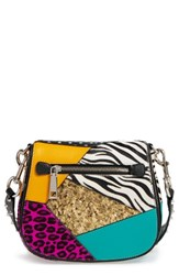 Marc Jacobs Punk Patchwork Small Nomad Leather Crossbody Bag