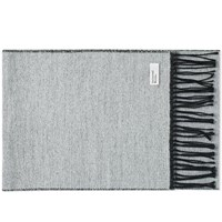 Universal Works Double Sided Scarf Black
