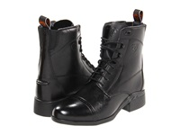Ariat Heritage Iii Paddock Lace Black Women's Dress Lace Up Boots