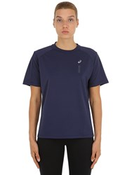 Asics Naked Techno Running T Shirt Blue