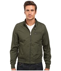 Members Only Iconic Racer Jacket Green Men's Coat