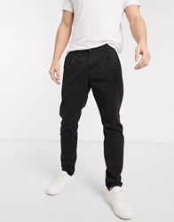 Only And Sons Slim Fit Chinos In Black