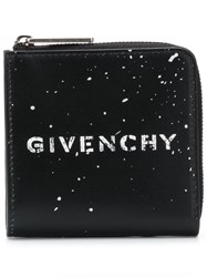 Givenchy Zipped Wallet Black