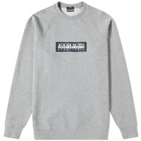 Napapijri Buka Crew Sweat Grey
