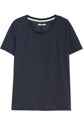 J Brand Kiki Stretch Jersey T Shirt Blue