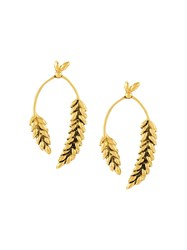 Aurelie Bidermann 'Wheat' Earrings Metallic