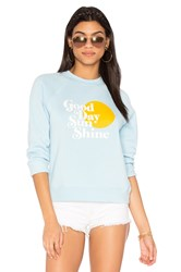 Rebecca Minkoff Good Day Sweatshirt Blue